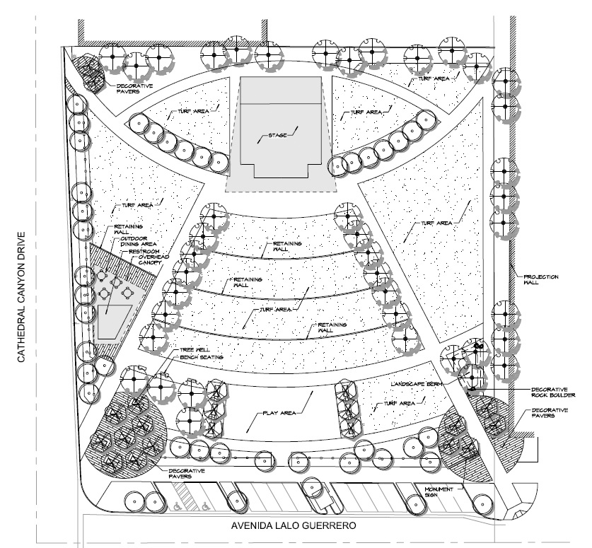 Design concepts cathedral city for Cabins near whitewater amphitheater