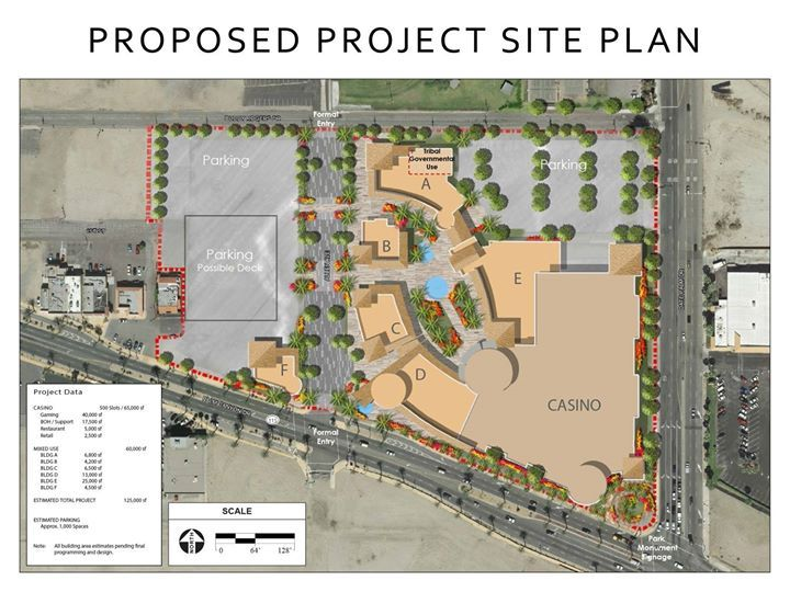 Initial Plans for the New Downtown Casino in Cathedral City Revealed