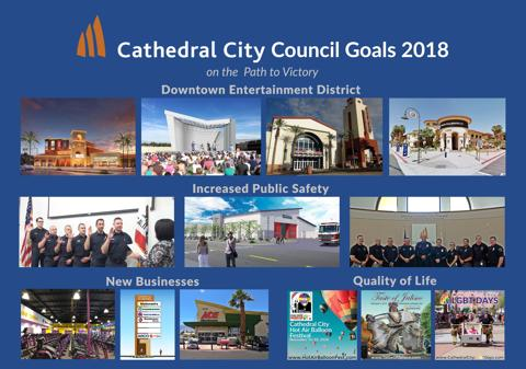 City Achieving Goals Set by the City Council
