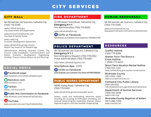 City Resource Guide