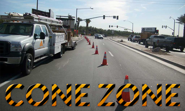 Cone Zone Alert: Streets Shared with the City of Rancho Mirage To Be Repaired